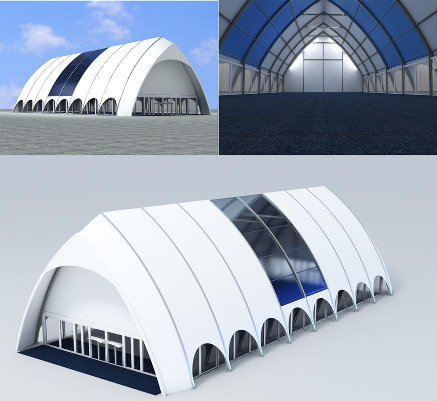 3d 3ds tent