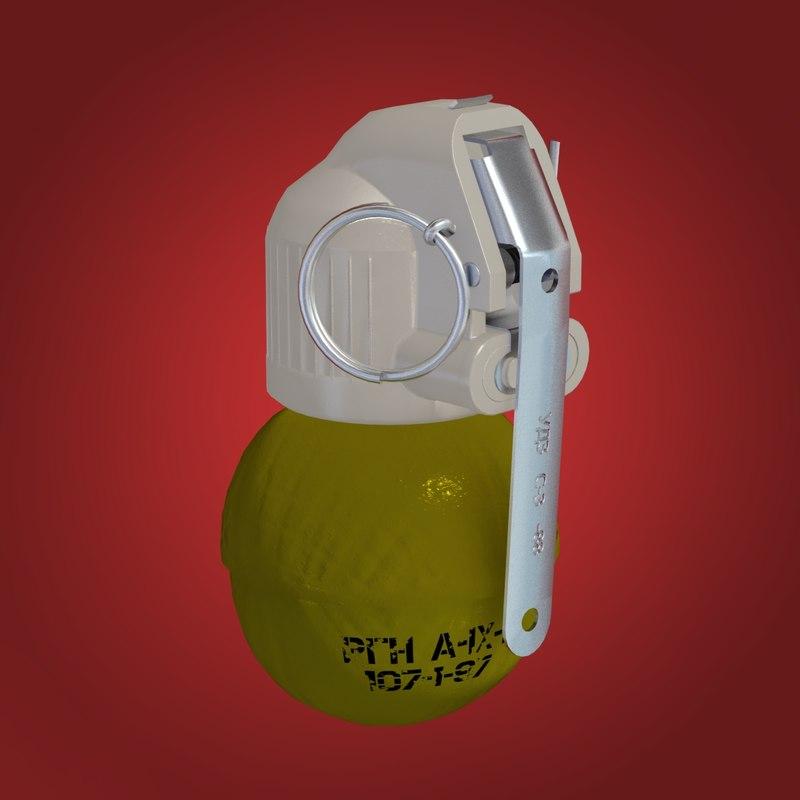 hand grenade rgn max