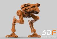Robot 3D Printable