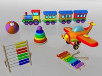 3d kit toys model