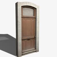 door entry 3d max