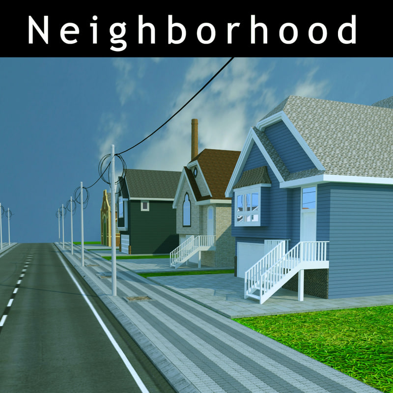3d neighborhood neighbor