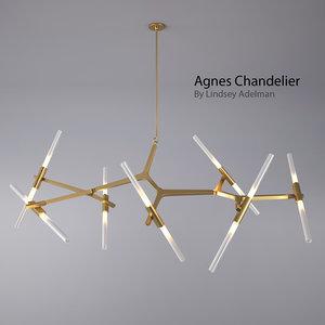 agnes chandelier - 14 max