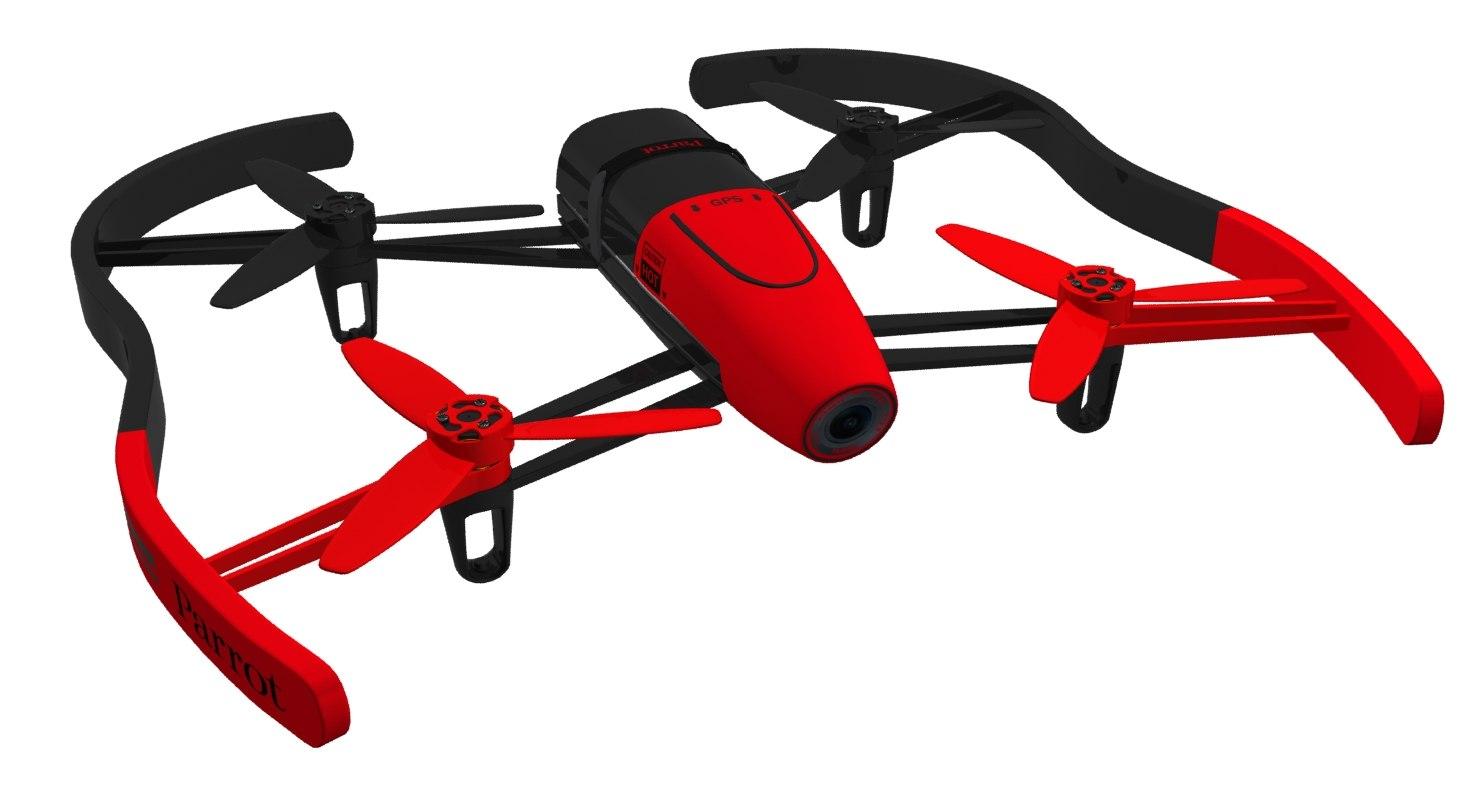 parrot bebop drone 3d 3ds