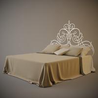 cantori pascia bed 3d model