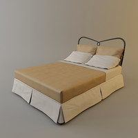 3d model cantori st tropez bed