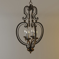 3ds max currey company everlasting chandelier