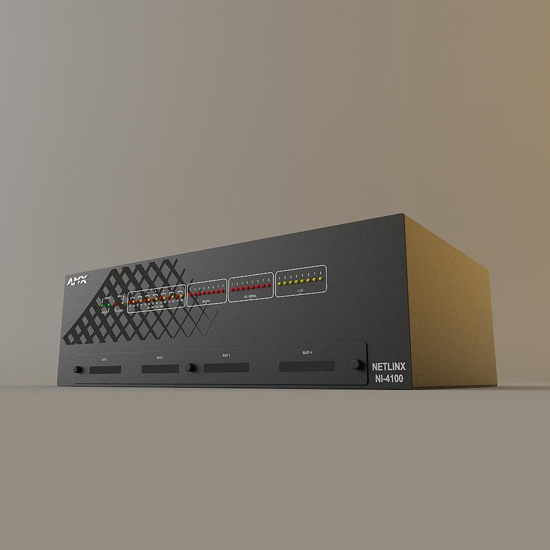 amx ni-4100 - integrated max
