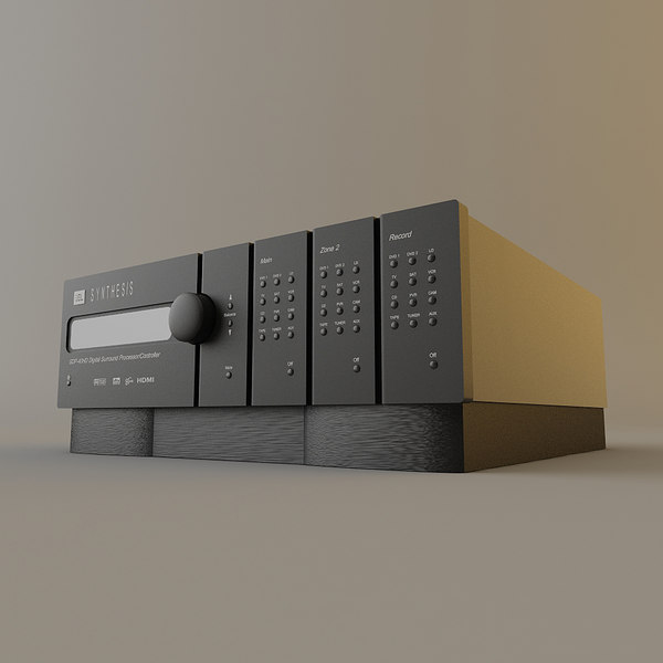 3d model jbl synthesis sdp 40