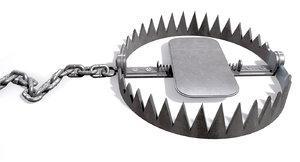 metal animal trap 3d c4d