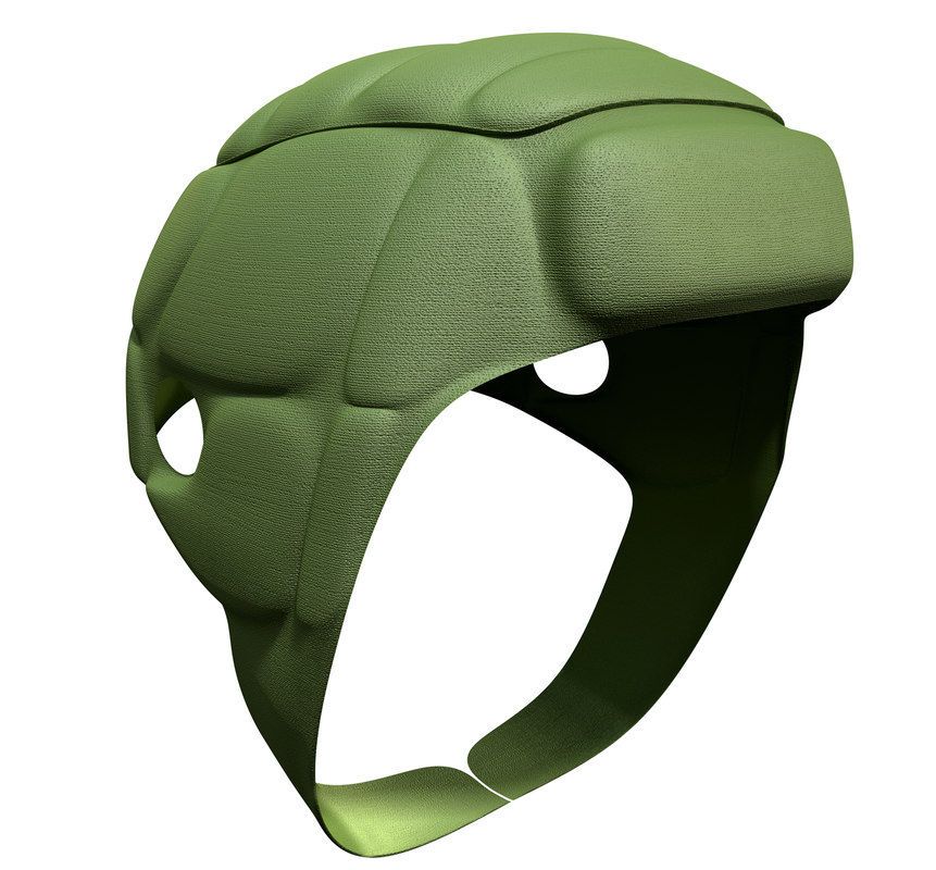 3d rugby scrum cap model