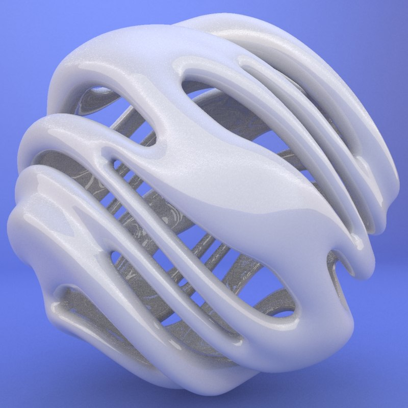 3d model of printed object