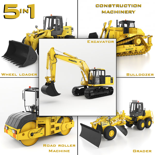 construction machinery 5 1 max