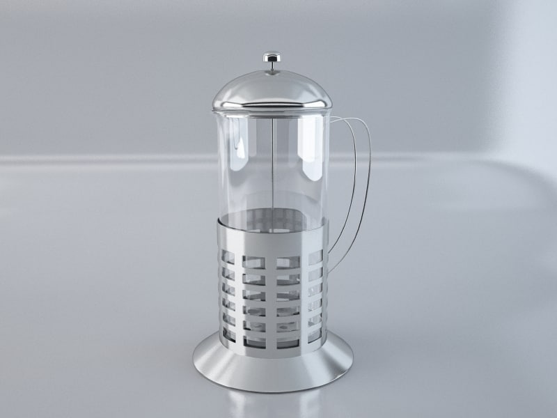 3ds max french teaglass