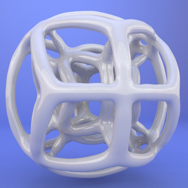3d printed object