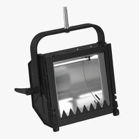 3ds max cyc flood light single