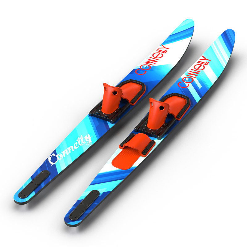 3d model waterskis connelly
