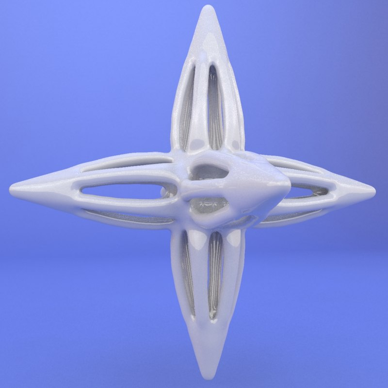 3d max printed object
