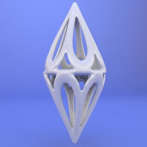 printed object 3d model