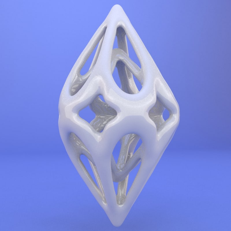 3d model printed object