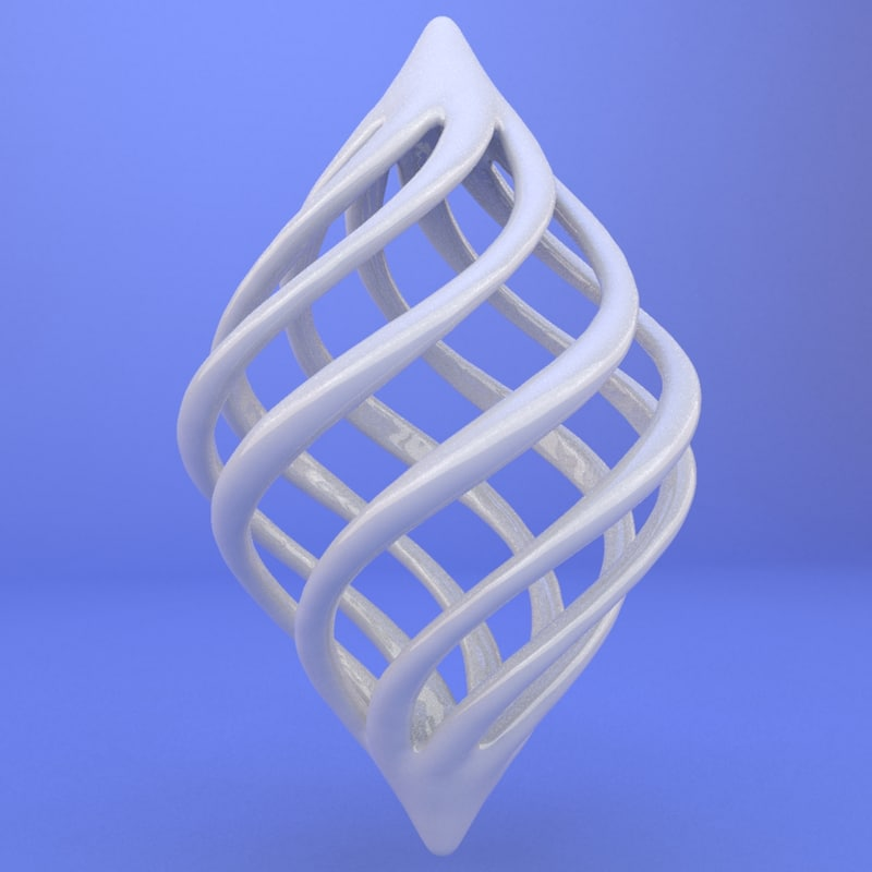 max printed object
