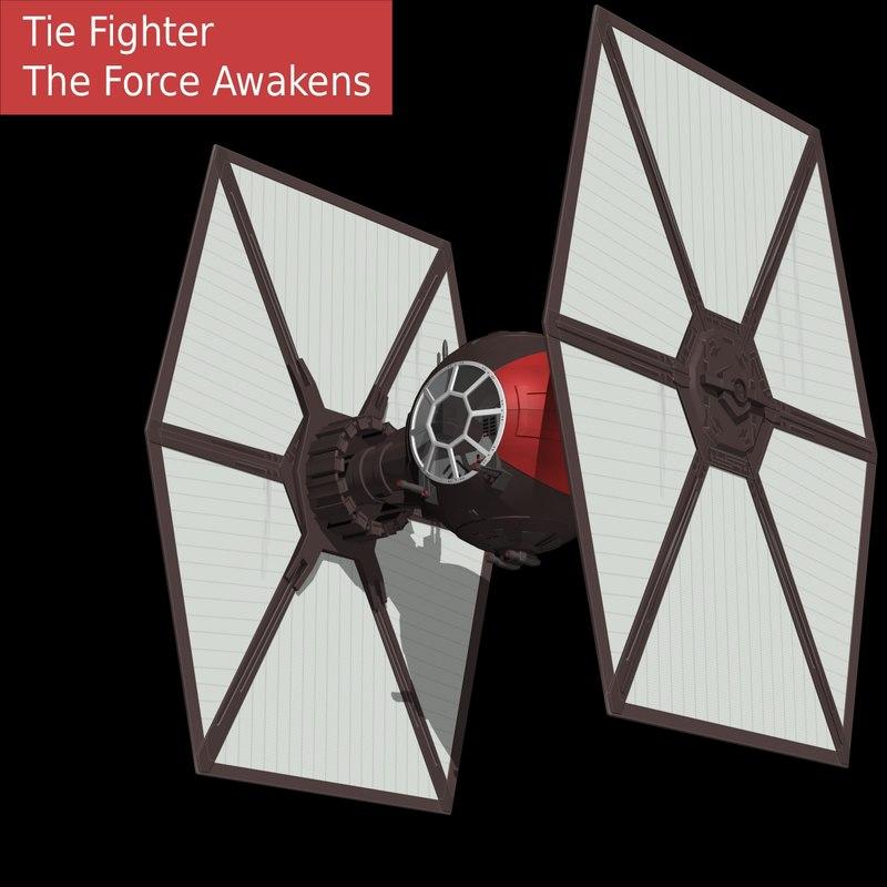 tie fighter order 3d max