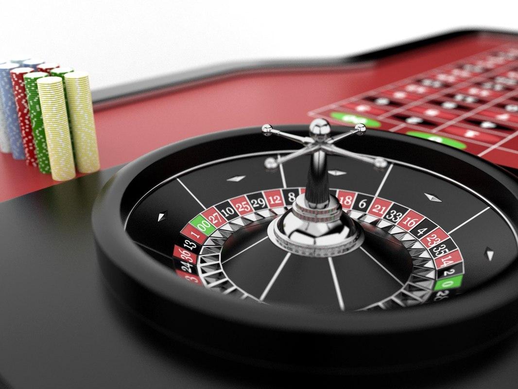 roulette table set 3ds