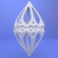 3d printed object model
