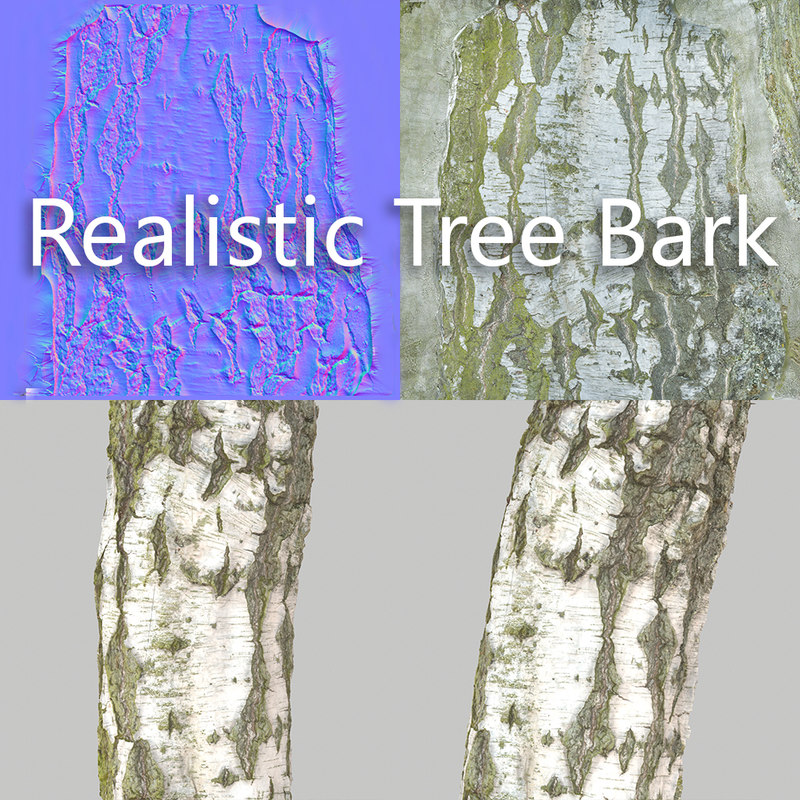 obj tree bark