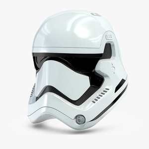 stormtrooper helmet star wars 3d max