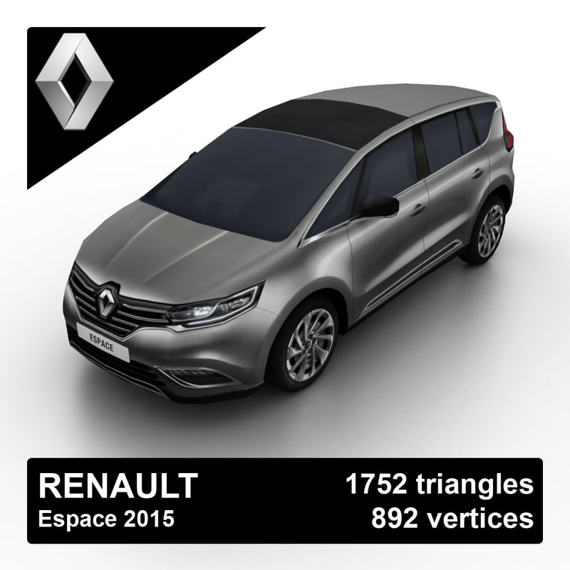 3d model 2015 renault espace
