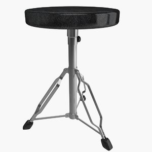 3d drum throne model
