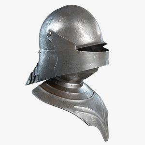 3d gothic salad helmet