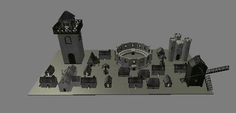 maya package medieval