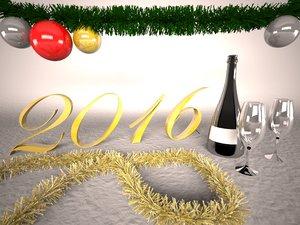 max new year 2016