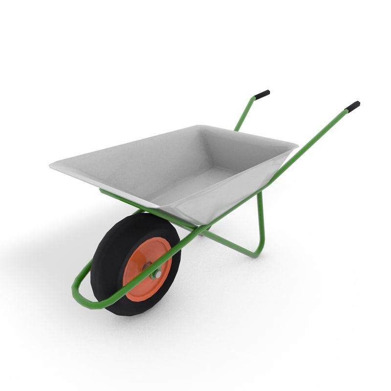 wheelbarrow 3ds