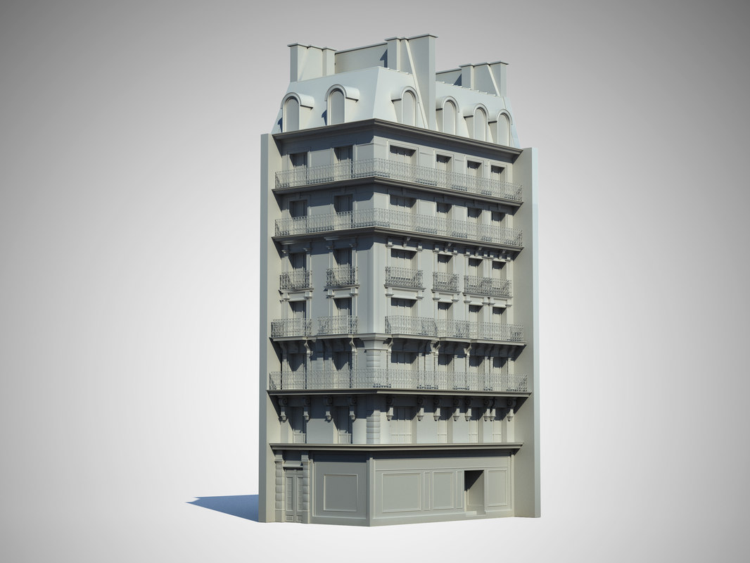 paris house exterior max