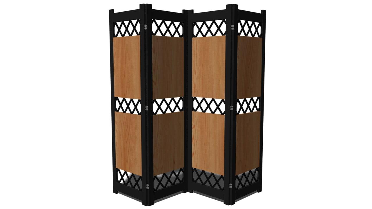 3d room divider model