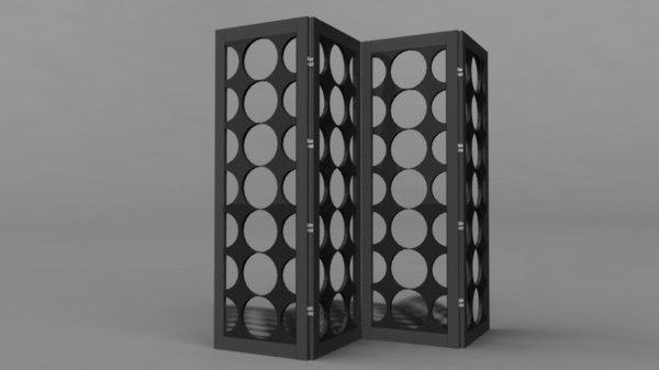 room divider 3d fbx