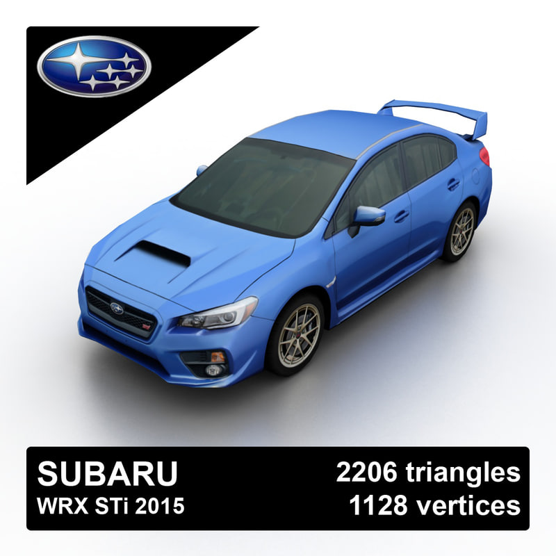 2015 subaru wrx sti 3d 3ds