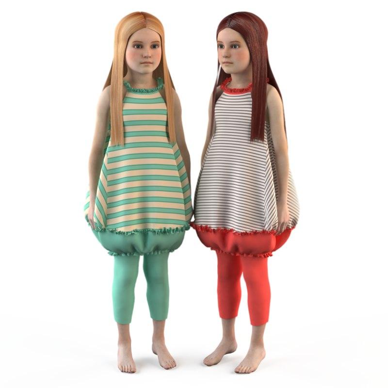 fashion baby girls 3ds