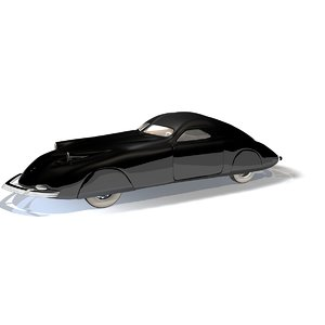1938 phantom corsair 3d obj