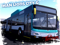 man lion city g 3d model