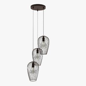 newtown lamp 3d 3ds