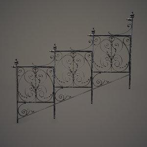3dsmax ornate lattice