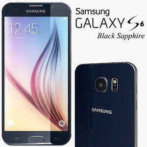 3d model samsung galaxy s6