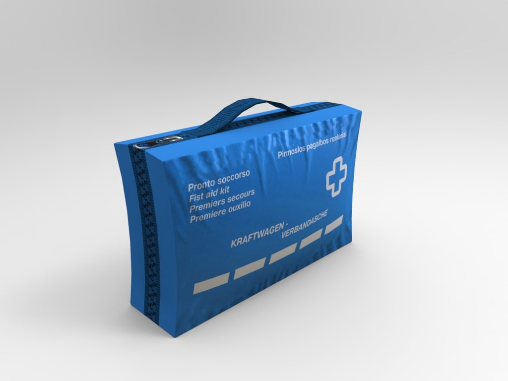 medical kit 3d 3ds
