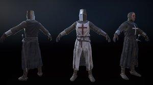 3d crusader model