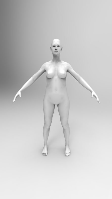 woman fbx