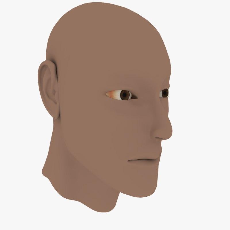 max male head
